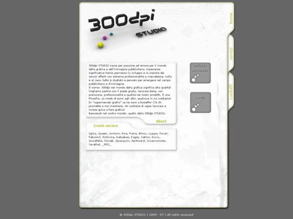 Home 300dpi studio 1° versione