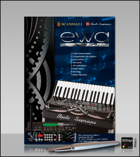 Copertina EWA – Electronic Wireless Accordions