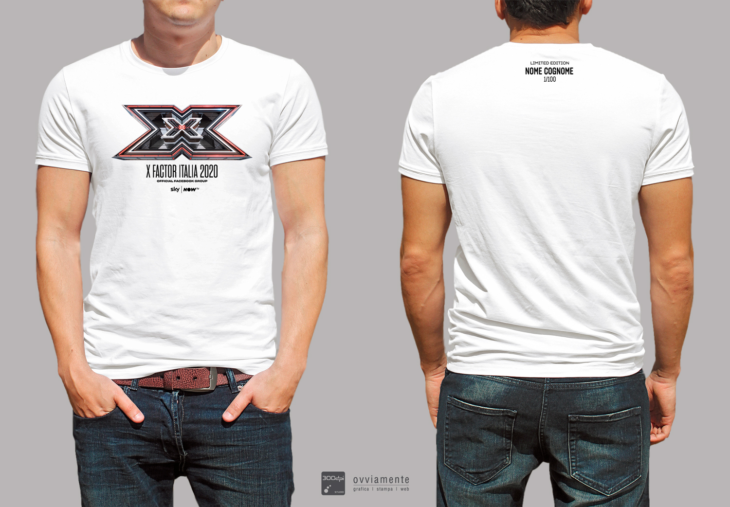 T-Shirt Bianca X Factor 2020