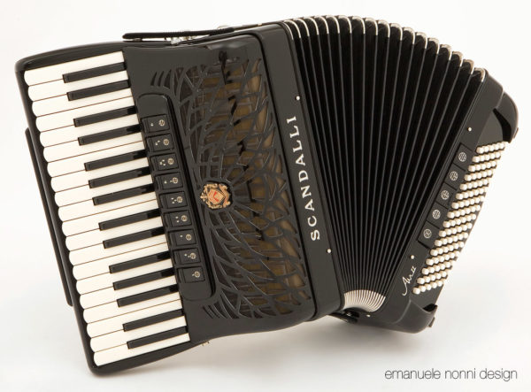 Air II Scandalli Accordions Castelfidardo Emanuele Nonni design