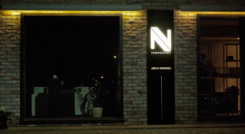 Alfrida&Valter parrucchieri - Nuova immagine esterna del negozio