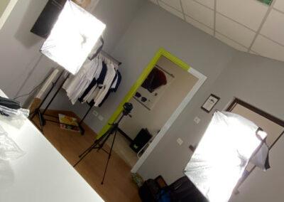 Backstage di riprese video presso 300dpi STUDIO