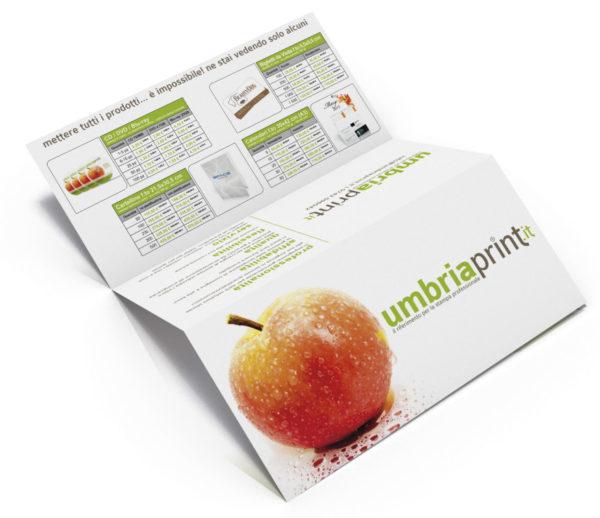 Brochure dimostrativa UmbriaPrint.it