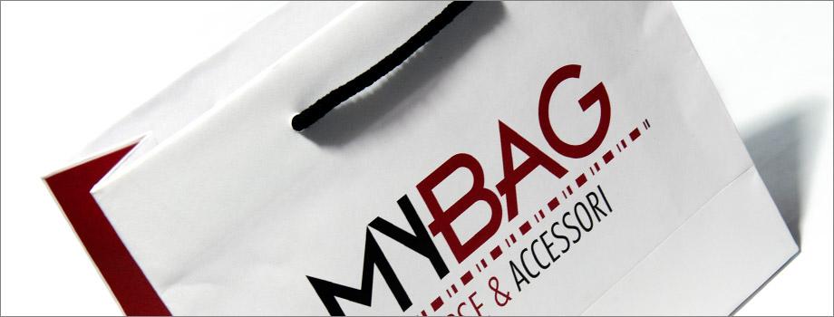 buste di carta personalizzate MY BAG