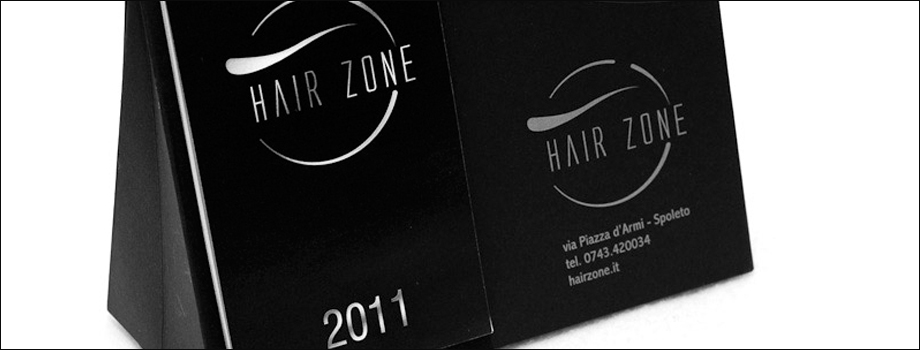 HAIR ZONE calendario portapenne