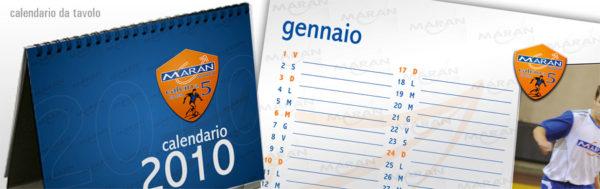 Calendario 2010 Maran Calcio a 5