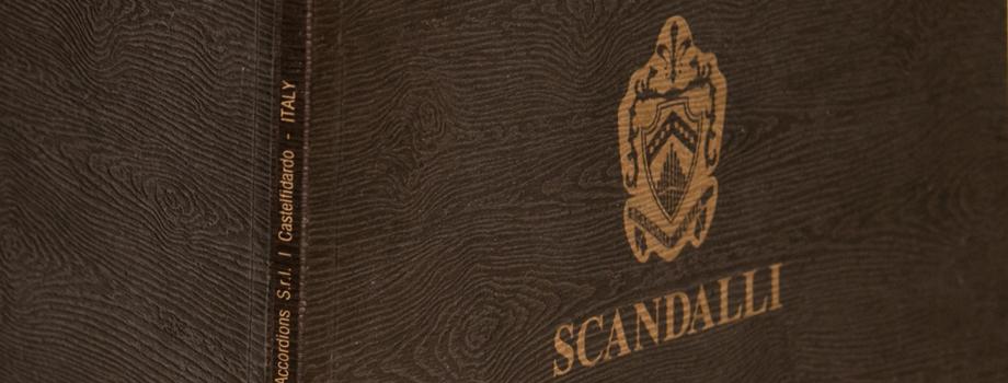 Scandalli Accordions | Catalogo fisarmoniche 2011