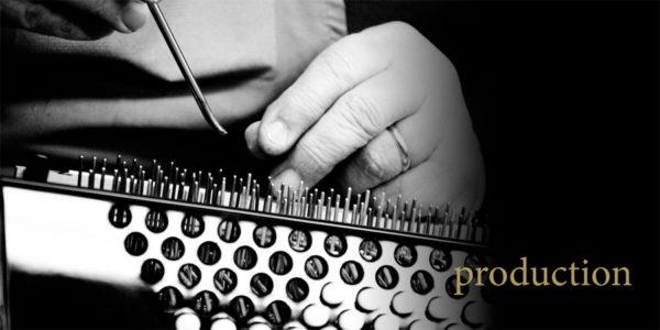 Catalogo Scandalli 2011, immagine di apertura: produzione