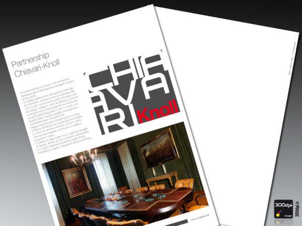 Interno brochure sintesi CHIAVARI Knoll