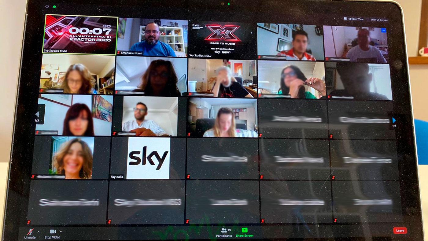Conferenza stampa live X FACTOR 2020
