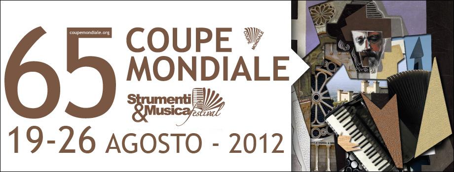 65 COUPE MONDIALE di FISARMONICA – 2012
