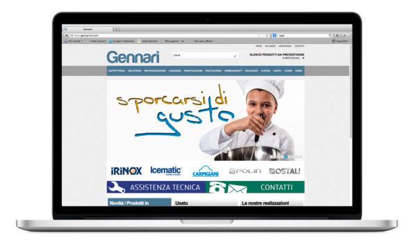 Sito internet Gennarisrl.com - home page