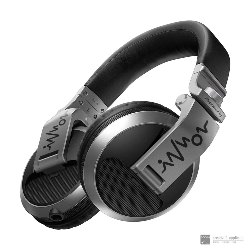 Cuffie personalizzate DJ Producer logo DJ INNON - 300dpi STUDIO