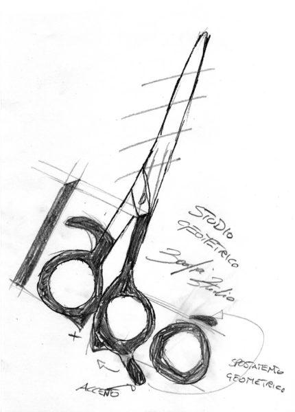 Progettazione logo Labo' Parrucchieri by Emanuele Nonni
