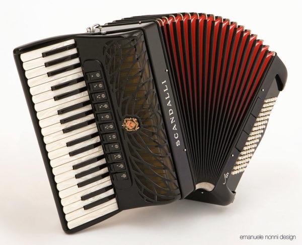 Fisarmonica Scandalli AIR - design Emanuele Nonni