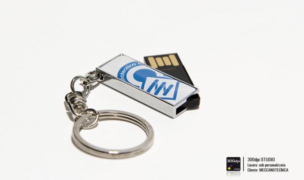 Foto USB 8 GB personalizzata Meccanotecnica