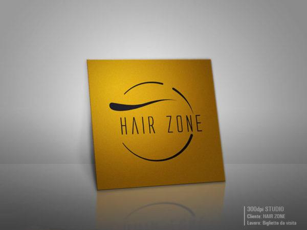 Biglietto da visita Hair Zone