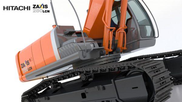 Escavatore Hitachi Zaxis 280 LCN