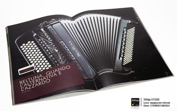Impaginazione editoriale Strumenti&Musica magazine nr 13 articolo: quando l'alternativa è azzardo