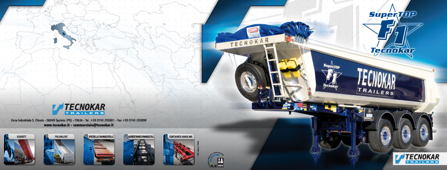 Tecnokar Trailers brochure prodotti