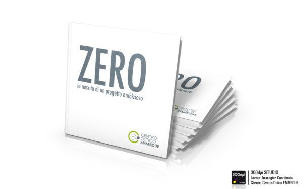 Grafica del libro ZERO. Formato chiuso 30x30 cm. Grafica del libro ZERO. Formato chiuso 30x30 cm.