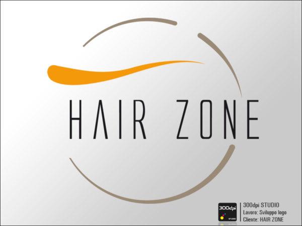 Logo Hair Zone parrucchieri