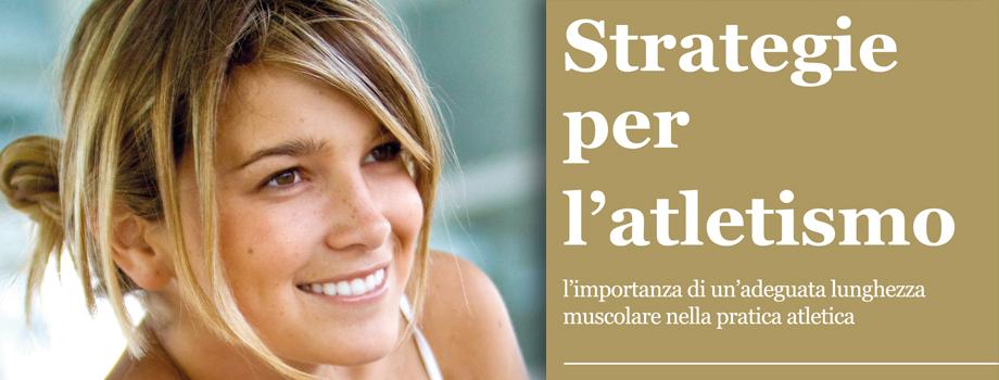 STRATEGIE PER L'ATLETISMO