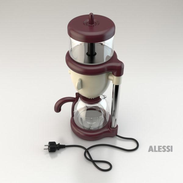 Alessi caffettiera elettrica