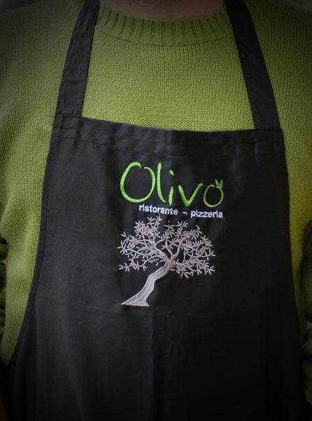 Parannanza personalizzata OLIVo ristorante - pizzeria