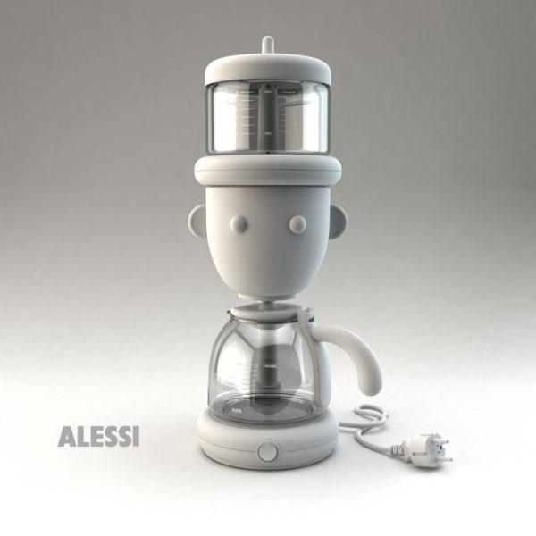 Override caffettiera GIO Alessi