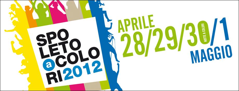 Evento SPOLETO a COLORI 2012