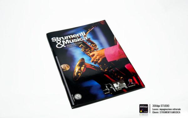Progetto grafico della copertina di Strumenti&Musica magazine nr 11