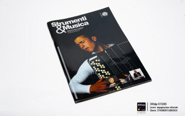 Progetto grafico copertinaStrumenti&Musica magazine nr 9