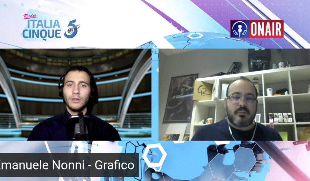 Radio Italia 5: intervista a Emanuele Nonni - 300dpi STUDIO | Spoleto - Rimini