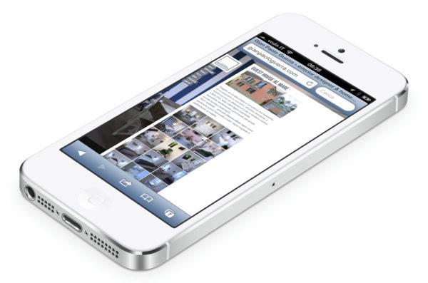 GianPaoloGuerra.com - iPhone inteno pagina