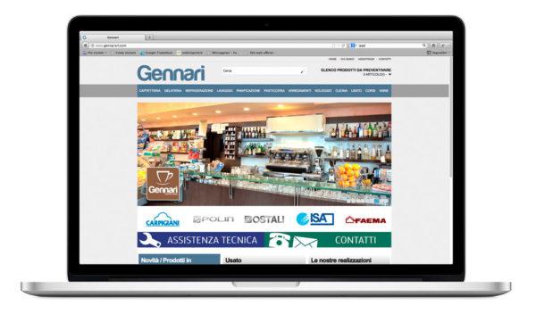 Sito internet Gennarisrl.com - caffetteria
