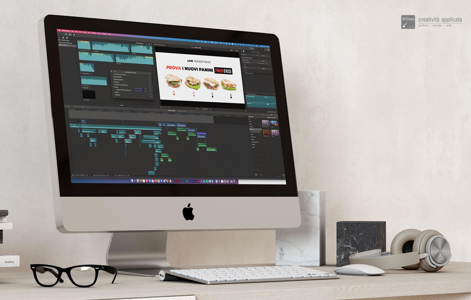 Realizzazione video pubblicitari - 300dpi STUDIO