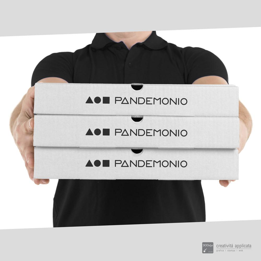 Scatole in cartone per Pizza: personalizzate - 300dpi STUDIO