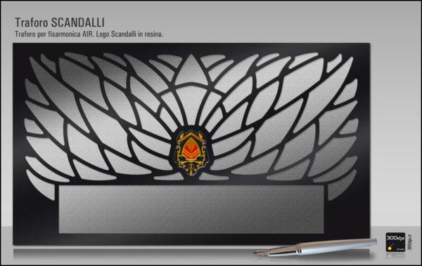 Simulazione piana traforo AIR Scandalli by 300dpi STUDIO