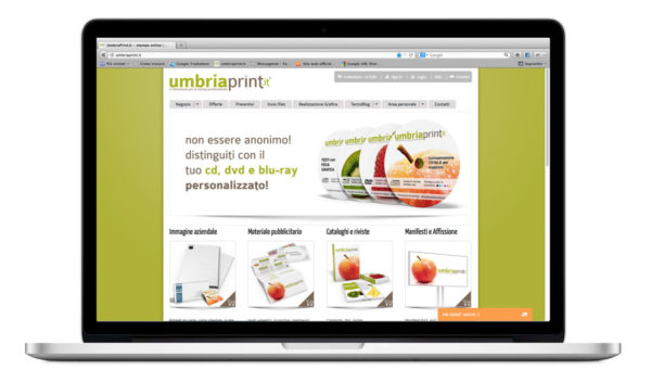 UmbriaPrint.it - sito e-commerce