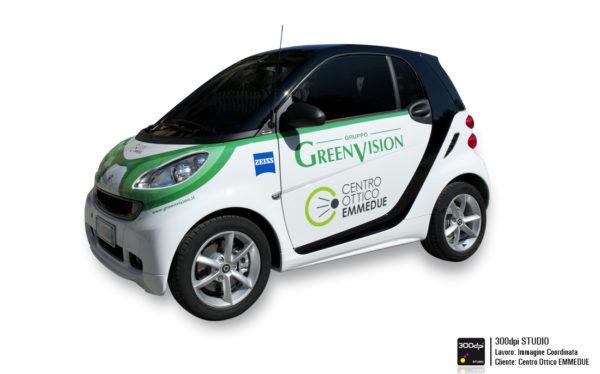 """Foto SMART personalizzata """"Green Vision"""" e Centro Ottico EMMEDUE"""