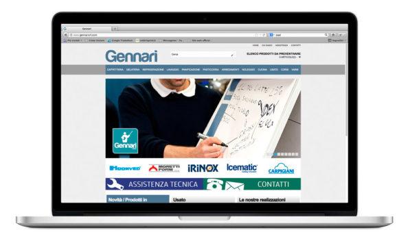 Sito internet Gennarisrl.com - corsi