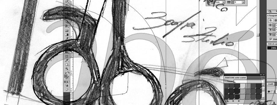 Labó Parrucchieri: design logo