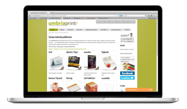 UmbriaPrint.it - Pagina catalogo