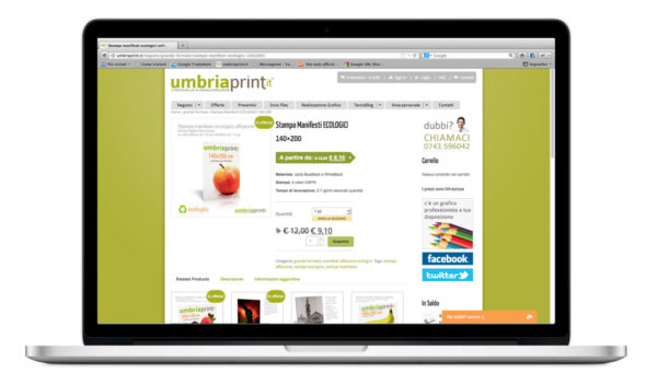 UmbriaPrint.it - Pagina prodotto