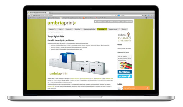 UmbriaPrint.it - Stampa Digitale Online