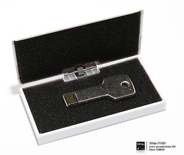 Chiave USB con cofanetto regalo