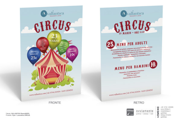 CIRCUS - Vallantica Resort SPA
