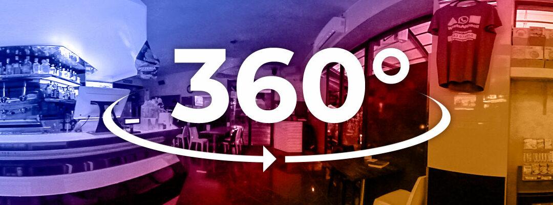 Virtual Tour Bar, Ristoranti e Pizzerie 360° – Pandemonio